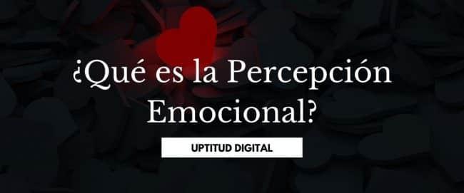 ¿Qué es la Percepción Emocional?